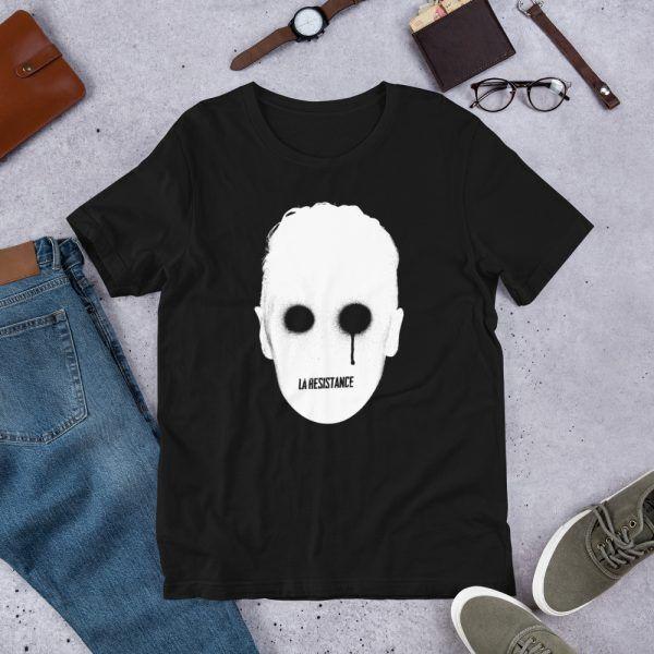 T-shirt LaResistance Synthwave, 80s, Retrowave and Vaporwave T-Shirt color black