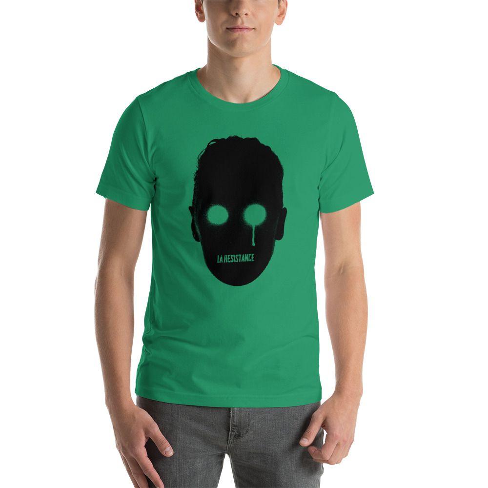 t-shirts Synthwave, 80s, Retrowave and Vaporwave LaResistance color kelly