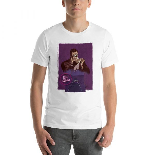 Chillwave aesthetic T-Shirt. Arcade, synthetizer, 80s and retro T-shirts color white