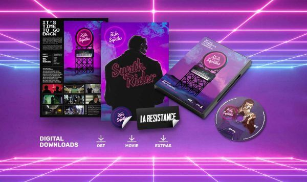 """DVD Movie """"The Rise Of The Synths"""" The Rise of the Synths Synthwave"""