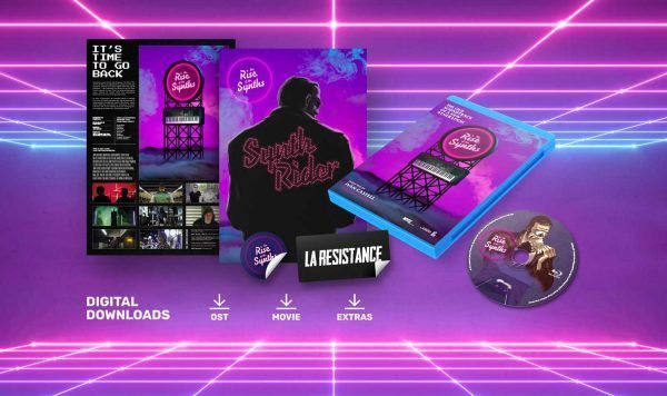 """Bluray Movie """"The Rise Of The Synths"""" (0$) The Rise of the Synths Synthwave"""