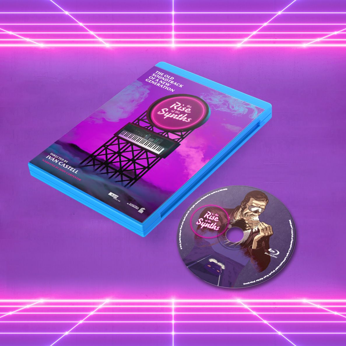 Pre Order The Rise of the Synths Synthwave